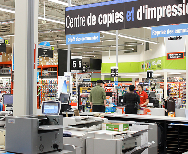Staples galeries des sources